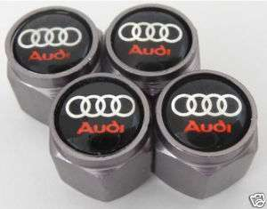 Brand New 4 Premium Quality Audi Wheel Valve Stem Caps