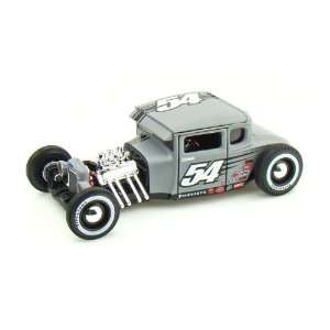 1929 Ford Model A Hot Rod 1/24 Grey #54 Toys & Games