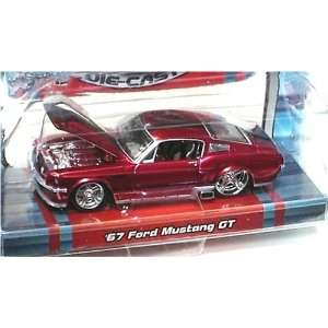 com Maisto Pro Rodz Red 1967 Ford Mustang GT 164 Scale Die Cast Car