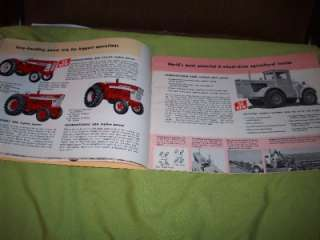 606 4300 660 Crawler Cub Cadet Tractor Catalog Plow Corn Picker