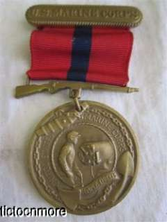 US WWI WWII USMC MARINE CORPS FATHER SON MEDAL POLICE NAMED GROUP