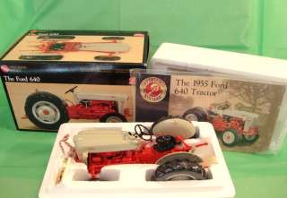 1955 FORD 640 FARM TRACTOR Ertl PRECISION SERIES 116 Scale near MIB