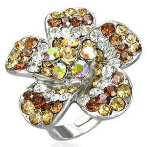 Stainless Steel Jewellery Shop   Pretty Free Size Fashion Multi Gem
