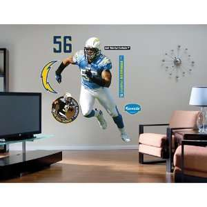 San Diego Chargers Shawne Merriman Wall Graphic