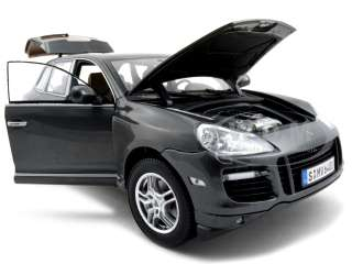PORSCHE CAYENNE TURBO GREY 118 DIECAST MODEL NOREV
