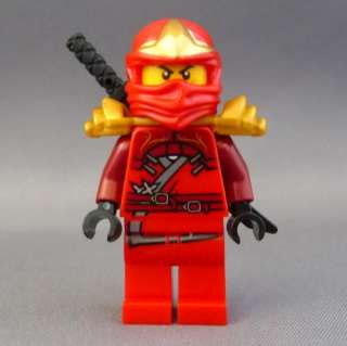 LEGO Ninjago Red Kai ZX Minifigure NEW