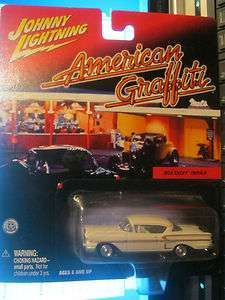 1958 CHEVY IMPALA AMERICAN GRAFFITI JOHNNY LIGHTNING JL 1/64