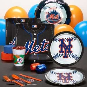 Lets Party By AMSCAN New York Mets Baseball Standard Pack