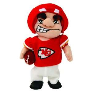 NFL Kansas City Chiefs Plush Dancing Musical Halfback Football Figure