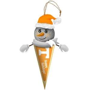 Pack of 3 NCAA Tennessee Volunteers Lighted Snowman