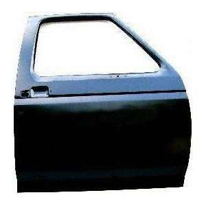 92 96 FORD BRONCO FRONT DOOR SHELL RH (PASSENGER SIDE) SUV, With Low