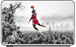 Michael Jordan Laptop Netbook Skin Decal Cover Sticker