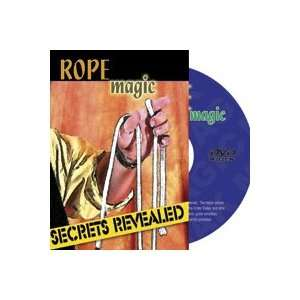 Rope Magic DVD Secrets Rings Easy Magic Trick Close Up