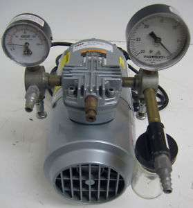 1HAB 25 M100X Gast Oil Less Reciprocating Vacuum Pump