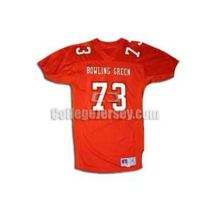 73 Game Used Bowling Green Russell Football Jersey