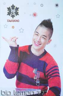 Tae Yang IN BIG BANG KOREAN BAND Poster #1 23.4X34.5