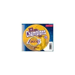Los Angeles Lakers 2010 NBA Finals Champions Die Cut car magnet