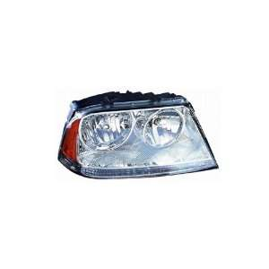 Lincoln Aviator Passenger Side Replacement Headlight