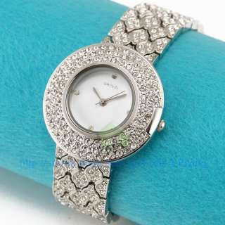 Encircled Elegant Lady Bracelet Bangle Bridal Party Dress Watch