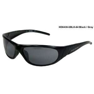 Harley Davidson HD0438 Sunglasses Black/Gray Lens