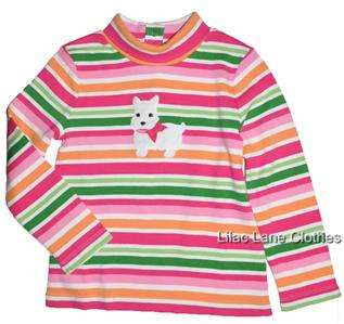 Gymboree Cheery all the Way Pink Westie Dog Shirt Pants Sweater Dress