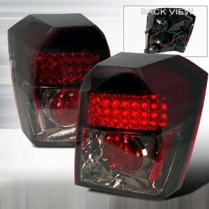 2006 2010 Dodge Caliber Led Tail Lights Smoke Automotive
