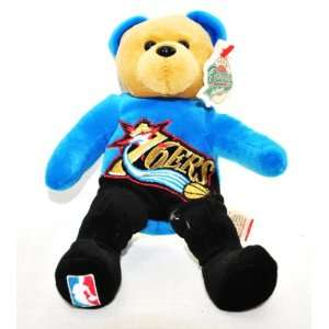 OFFICIAL NBA LARGE LOGO 8IN SPECIAL FABRIC BASKETBALL PLUSH TEDDY BEAR
