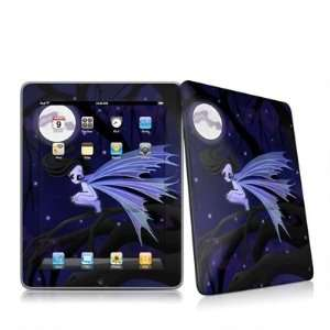 Dark Fairy Design Protective Decal Skin Sticker for Apple iPad 1st Gen