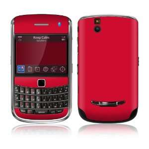 BlackBerry Bold 9650 Skin Decal Sticker   Simply Red