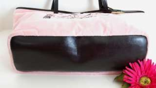 JUICY COUTURE Authentic pink Tote bag NWT