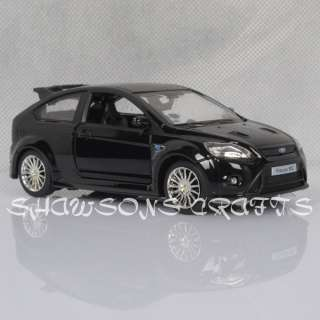 32 SOUND & LIGHT PULL BACK FORD FOCUS RS MODEL CAR REPLICA