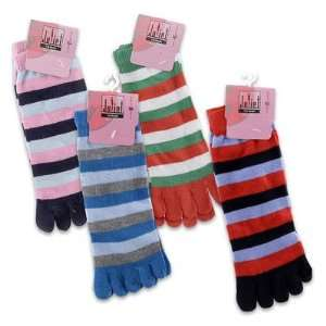 4 Pairs 10L Short Toe Socks For Women