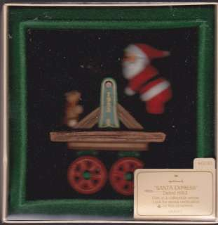 1983 Hallmark Santa Express Here Comes Santa Series Ornament Dated NIB