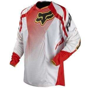 Fox Racing Platinum A1 Jersey   Medium/White/Red