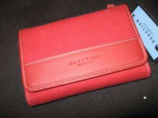 New Kenneth Cole Reaction Red Wallet