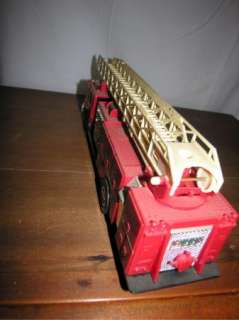 Hess Fire Truck Bank 1996 Ladder Truck Toy Fire Truck