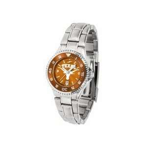 Texas Longhorns Competitor AnoChrome Ladies Watch with
