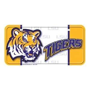 Metal Novelty Car License Plate LSU Tigers Everything