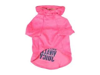 JUICY COUTURE VIVA LA JUICY DOG PET COAT TERRY HOODIE GREY SMALL SALE