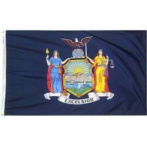 Annin 4 x 6 New York State Flag Patio Furniture