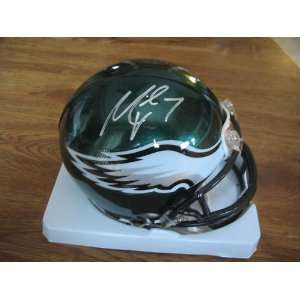 MICHAEL VICK SIGNED AUTOGRAPHED PHILADELPHIA EAGLES MINI HELMET
