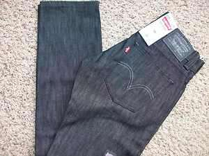 LEVIS 511 SKINNY STRAIGHT BLACK JEANS MENS 30X32 STYLE 045110251 FREE