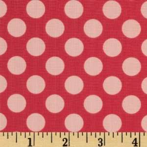 44 Wide Summer Song Dots Pink Fabric By The Yard Arts