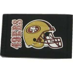 NFL SAN FRANCISCO 49ers FOOTBALL LOGO WALLET Sports