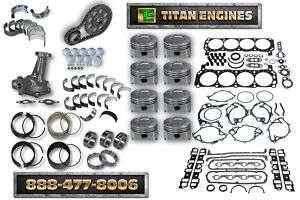 Ford Truck 302 5.0 87 91 Engine ReBuild Kit Econoline