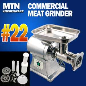 Commercial Electric Meat Grinder Sausage Stuffer #22