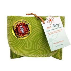 Snack Ditty Organic Snack Bag   Let it Grow Green