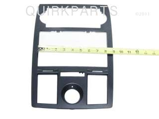 gps radio dash bezel black mopar genuine oem genuine mopar part number