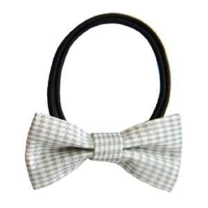 Ivory White Classic Sweet Ivy Ribbon Bow Beauty