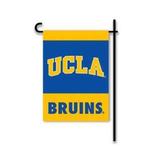 NCAA UCLA Bruins 2 Sided Garden Flag w/pole